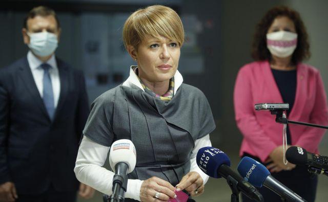 Aleksandra Pivec na policiji ni bila zaslišana ne kot priča ne kot osumljenka. FOTO: Jure Eržen/Delo