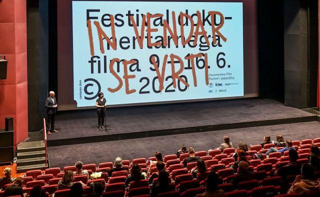 Odprtje 22. Festivala dokumentarnega filma. FOTO: Iztok Dimc