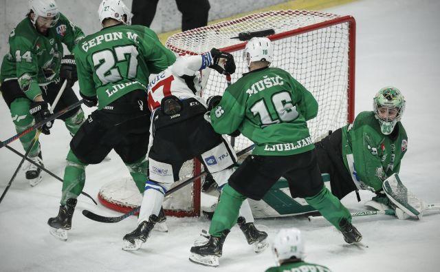 Iz dneva v dan se bolj zdi, da je pred hokejisti Olimpije še ena sezona v alpski ligi. FOTO: Uroš Hočevar/Delo