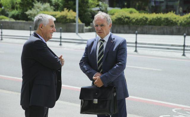 Aleš Hojs je za šefa policije pričakovano predlagal Antona Travnerja. FOTO: Jože Suhadolnik/Delo