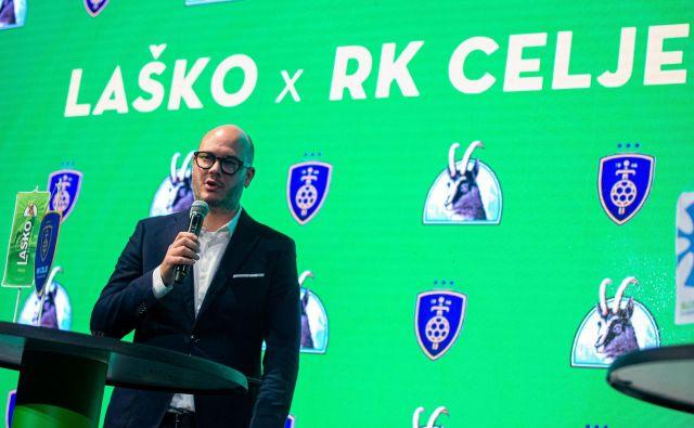 Jernej Smisl je predsednik Celja PL od januarja 2018. FOTO: RK CPL