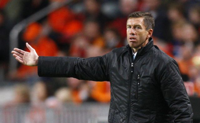 Slovenski selektor Srečko Katanec po tekmi ni bil povsem zadovoljen z izidom 3:3. FOTO: Jerry Lampen/Reuters