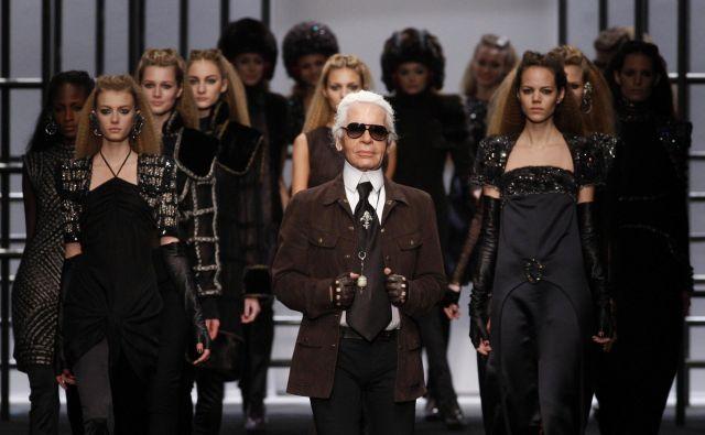Karl Lagerfeld je buril duhove že v času življenja in nič drugače ni po njegovi smrti. FOTO: Reuters
