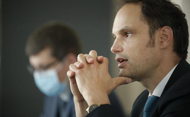 Zunanji minister Anže Logar danes odhaja na Dunaj. Jure Eržen/Delo