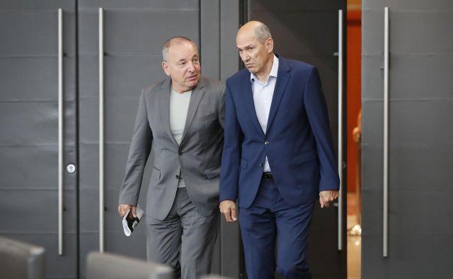Minister za finance Andrej Šircelj vladi Janeza Janša le težko najde fiskalni prostor za spodbude gospodarstvu. Foto: Leon Vidic/Delo