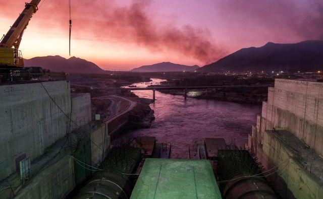 Veliki etiopski hidrojez je investicija, vredna več kot štiri milijarde ameriških dolarjev. FOTO: Eduardo Soteras/AFP