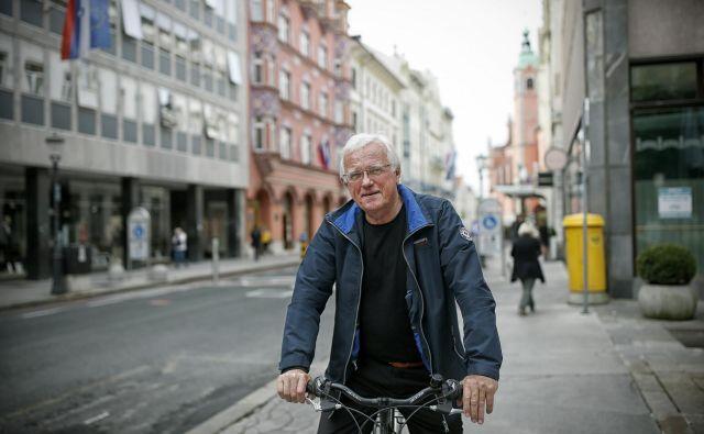 Drago Bulc je glede nadaljnjega razvoja turizma v Sloveniji zmeren optimist. FOTO: Blaž Samec/Delo