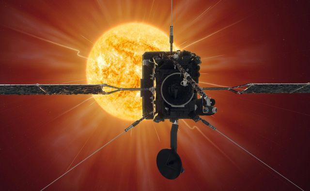 Solarni orbiter ima na krovu deset instrumentov, od tega šest teleskopov oziroma kamer. Foto Esa