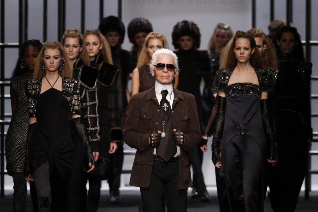 Karl Lagerfeld: boj za dediščino modnega guruja