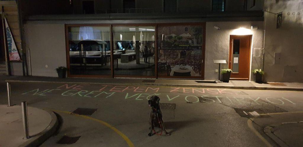 Protestnica prijavila znanega gostinca zaradi udarca