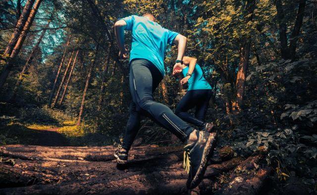 Trail tekaški copati ponujajo več oprijema in stabilnosti, kar je prav tisto, kar potrebujete pri teku po razgibanem terenu in v naravi. FOTO: Mikhail Dudarev/Shutterstock