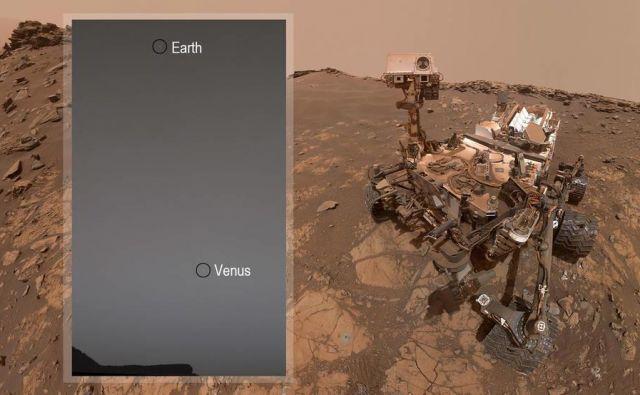 Zemlja in Venera FOTO:NASA/JPL-Caltech