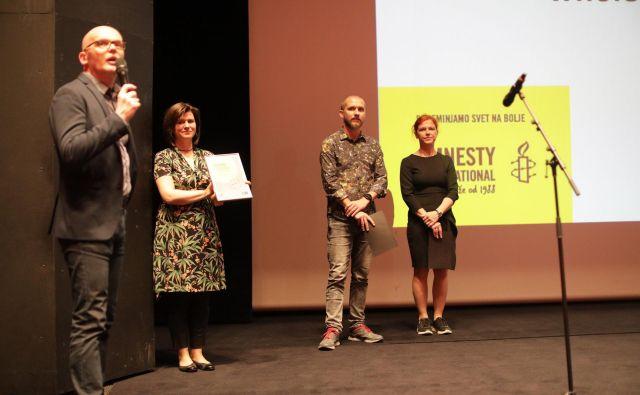 Sinoči so na Festivalu dokumentarnega filma podelili nagrade. Zmagovalec 22. edicije festivala je romunski film Kolektiv. Foto Voranc Vogel