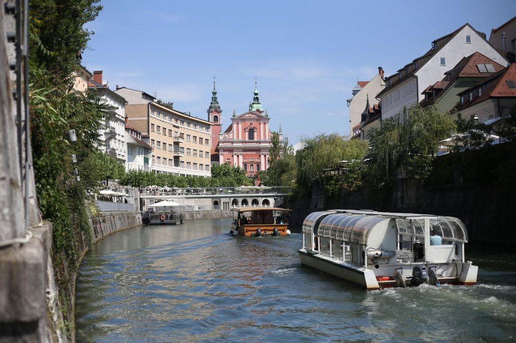Še letos redna ladijska linija na Ljubljanici