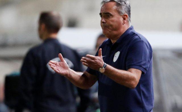 Nekdanji selektor reprezentance Tomaž Kavčič sodi med najbolj izkušene nogometne delavce pri nas. FOTO: Yiannis Kourtoglou/Reuters