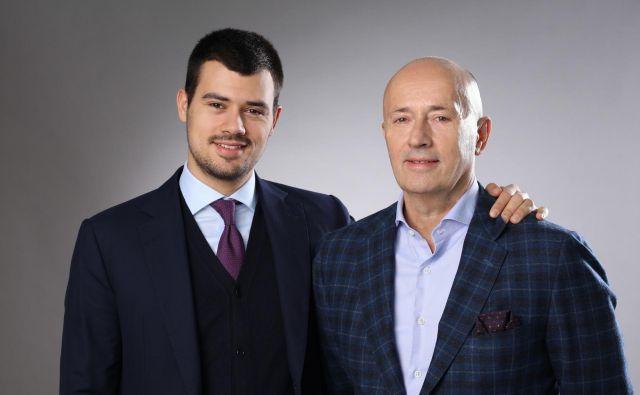 Miodrag Kostić (desno), ki je pomemben lastnik v slovenskem turizmu in bančništvu, svojo moč črpa iz srbskega kmetijstva, zdaj svojo moč v srbskem kmetijstvu še dodatno krepi.FOTO: MK Group