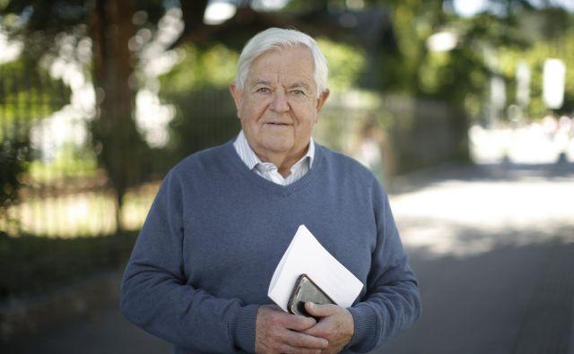 Milan Kučan je bil prvi predsednik Slovenije, aktivno politično kariero je končal leta 2002. FOTO: Jure Eržen/Delo