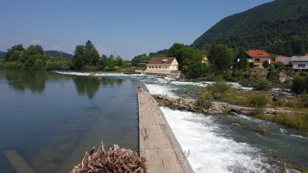 FOTO:Naša najdaljša reka je izredno bogata