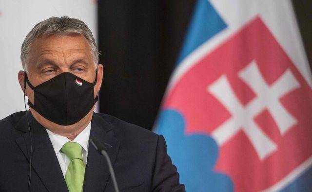 Madžarski premier je izgubi sodno bitko na Sodišču EU. FOTO: Michal Cizek/AFP