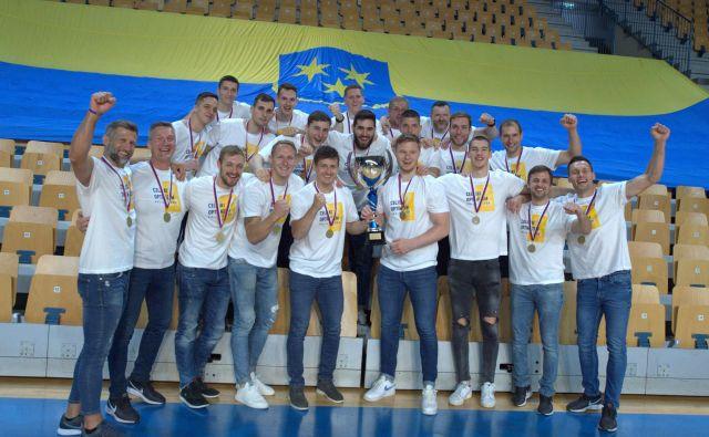 Celjani so osvojili 24. naslov. FOTO: Slavko Kolar