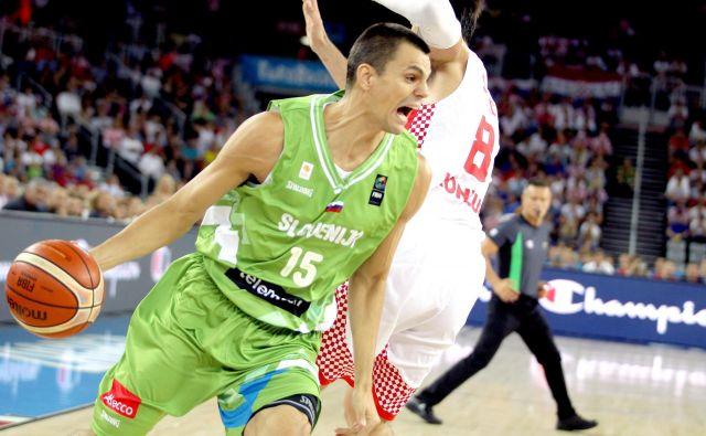 Jure Balažič je uspešno branil barve Krke in slovenske reprezentane, danes začenja novo pot. FOTO: Roman Šipić