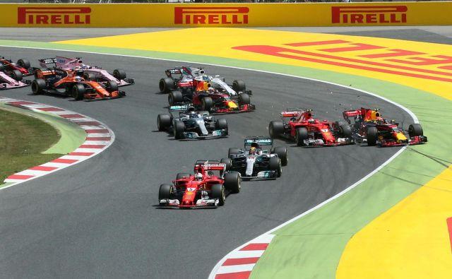 Nova sezona svetovnega prvenstva formule 1 se bo začela na avstrijskem Štajerskem. FOTO: Albert Gea/Reuters