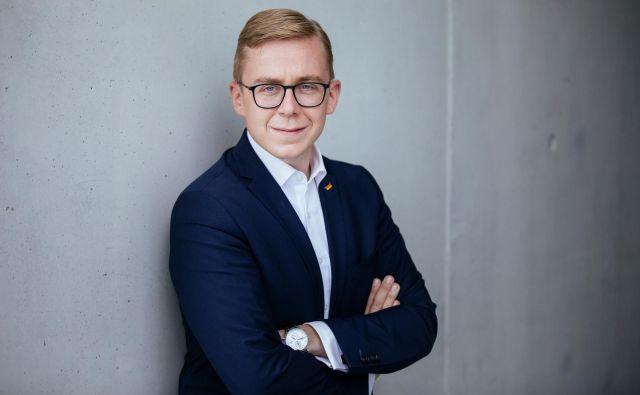Philipp Amthor je poslanec zveznega parlamenta od leta 2017.<br /> Foto Tobias Koch