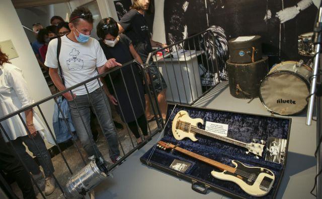 Večina inštrumentalnih eksponatov je del beograjske muzejske zbirke. FOTO: Jože Suhadolnik/Delo