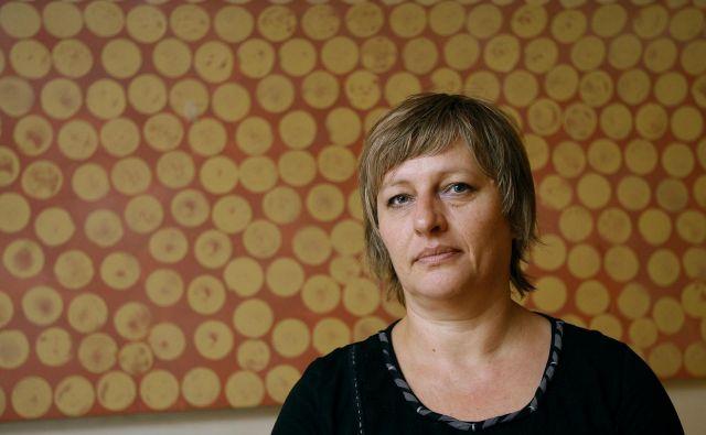 Majda Koren je svojo ustvarjalno moč združila z Damijanom Stepančičem FOTO: Samec Blaž/Delo