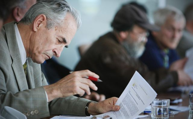 Izvrstni ustavni pravnik Teršek naj se prijavi tudi na ponovljeni razpis. Foto Jure Eržen