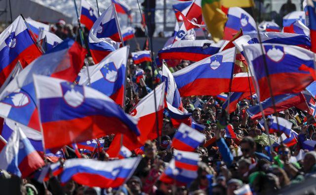 Šport vedno znova združuje Slovence. FOTO: Matej Družnik