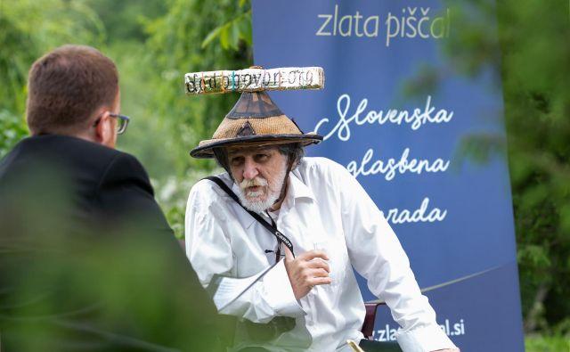 Zlato piščal za življenjsko delo je prejel Marko Brecelj. FOTO:Tadej Majhenič