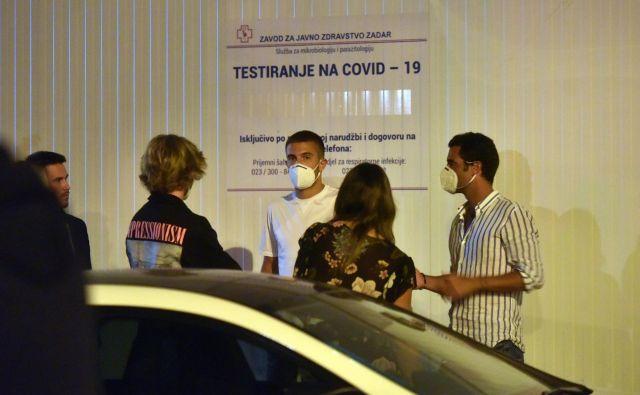 Okužil se je tudi hrvaški zvezdnik Borna Čorić. FOTO: Cropix
