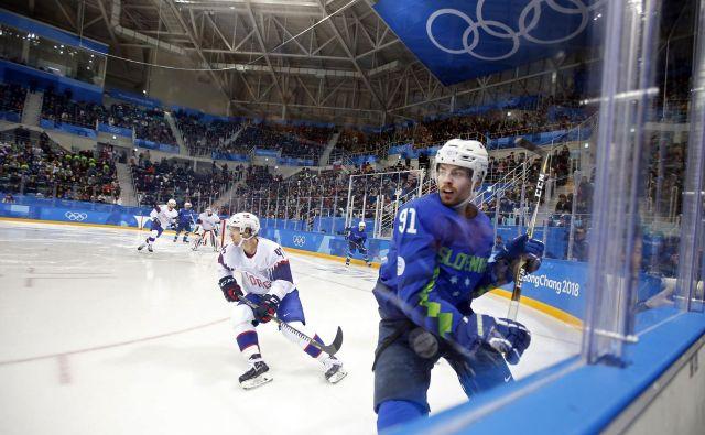 Slovenski hokejisti so nazadnje na OI nastopili pred dobrima dvema letoma v Južni Koreji. FOTO: Matej Družnik/Delo