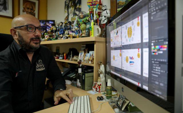 Rešitve podjetja Adobe olajšajo grafično ustvarjanje.<br /> FOTO: Manaure Quintero/Reuters