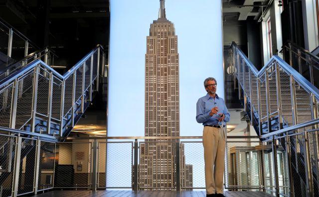 Anthony Malkin vodi družbo, ki je lastnica slovitega Empire State Buildinga. Foto Mike Segar/Reuters