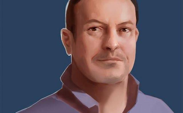 Portreti članov uprave na domači spletni straniKeywords Studios so izdelani v slogu računalniških iger, tudi izvršni direktor Andrew Day je videti nekoliko neresničen. Foto spletna stran Keywords Studio