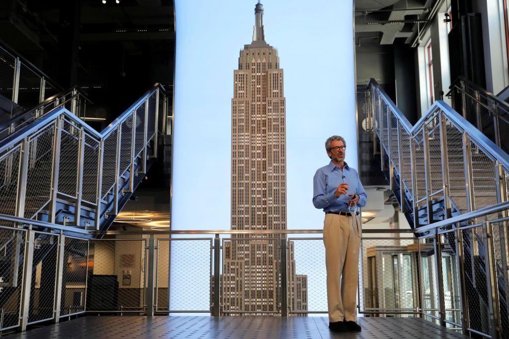 Anthony Malkin je spet odklenil slavni nebotičnik
