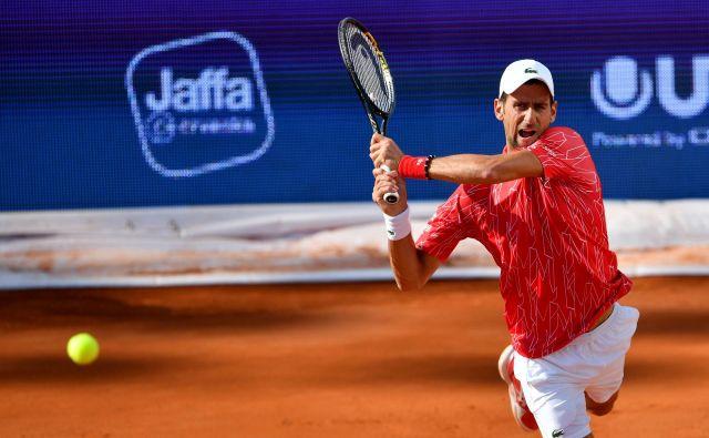 Novak Đoković je novi okuženi med tenisači. FOTO: AFP