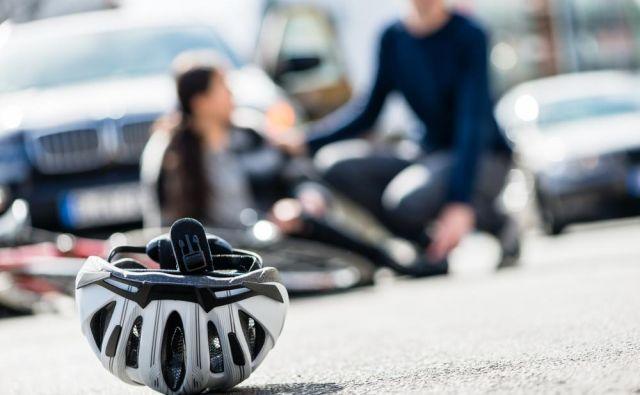 Veliko kolesarjev v resnici trpi zaradi številnih pogostih poškodb, ki sploh niso povezane s padci. FOTO: Shutterstock
