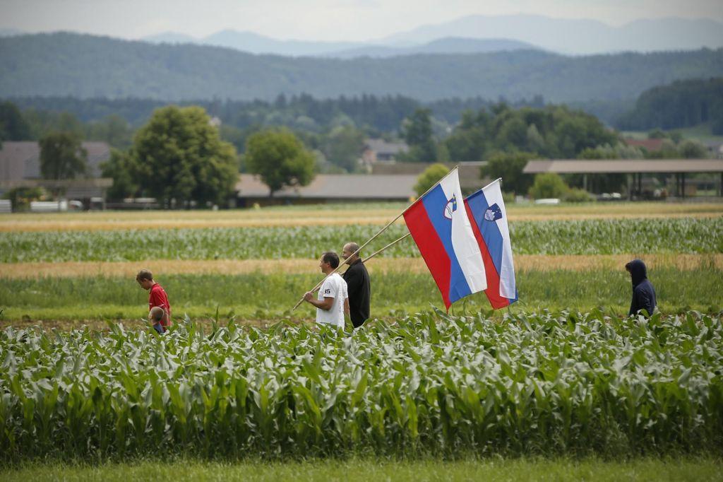 FOTO:Praznik najbolj razdeljene Slovenije