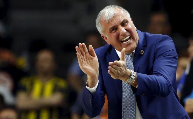 Željko Obradović je končal svojo ero v Fenerbahčeju. FOTO: Reuters
