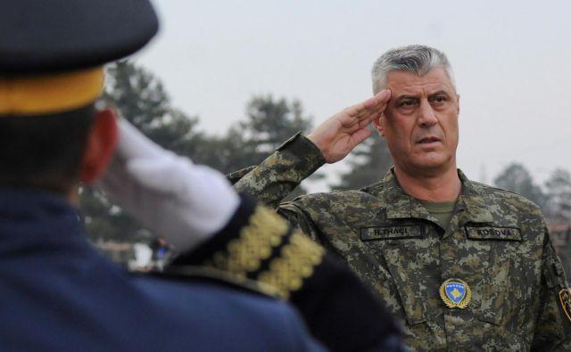 Kosovski predsednik Hashim Thaçi. FOTO:Laura Hasani/Reuters