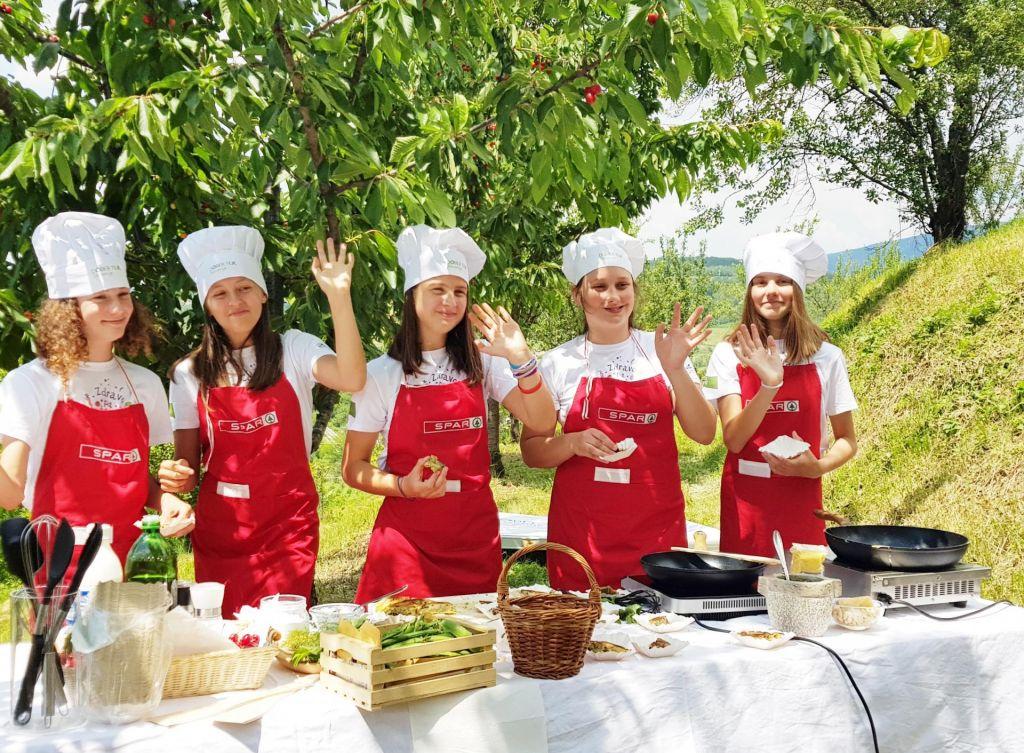 Kuhanje je za otroke edinstvena šola za življenje