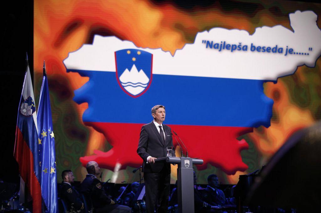FOTO:Predsednik Pahor: Izpovejmo naglas različna stališča, a brez žalitev