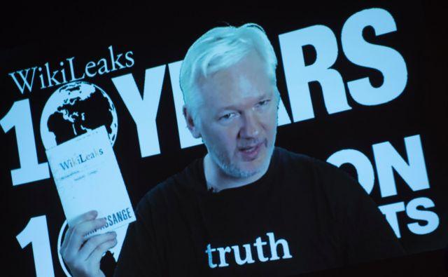 Julian Assange FOTO:Steffi Loos/AFP