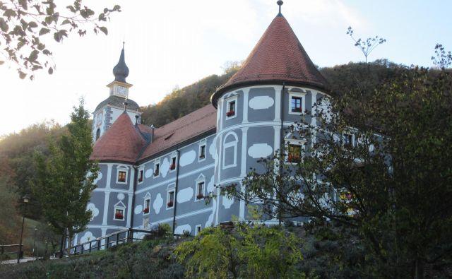 Lekarna v samostanu v Olimju je tretja najstarejša v Evropi. FOTO: Špela Kuralt