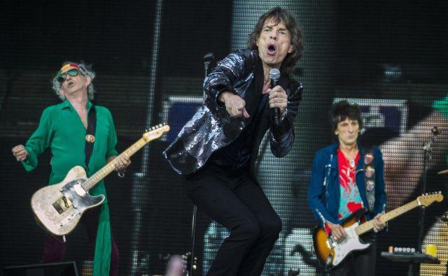 Britanska rock skupina Rolling Stones že več let poskuša preprečiti, da bi na političnih nastopih Donalda Trumpa vrteli njihovo glasbo. Foto Thomas Peter Reuters