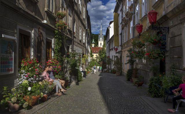 Križevniška ulica FOTO: Voranc Vogel/Delo