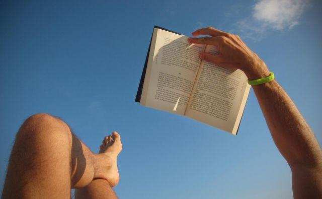 Poletje je čas za dolge sezname počitniškega branja.<br /> FOTO: Jure Eržen/Delo